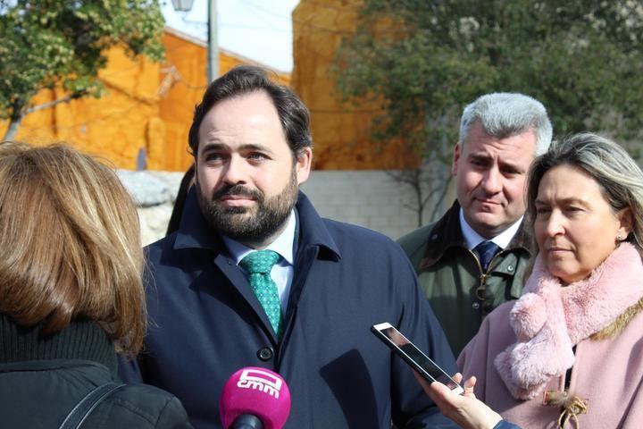 Paco Nuñez asiste este sábado a la Misa y Procesión con motivo de la festividad de la Candelaria, en Pioz