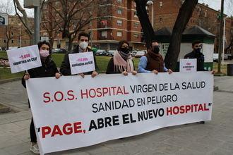 """Denuncian la situación """"infrahumana y deleznable"""" que sufren los pacientes y los profesionales sanitarios del Hospital Virgen de la salud de Toledo"""