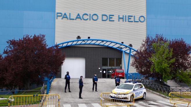 El Palacio de Hielo de Madrid actuará como morgue ante la saturación de los crematorios
