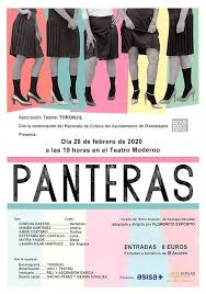 'Panteras' se representa este viernes en el Teatro Moderno de Guadalajara