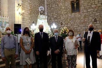 Emocionante celebración religiosa del Día de la Virgen de los Remedios en Pareja