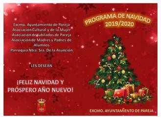 Pareja recibe la Navidad con un variado programa de actos