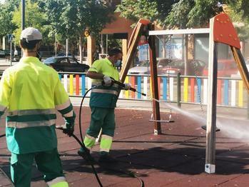 Reabren los parques infantiles y se amplía la apertura de las pistas deportivas de Azuqueca