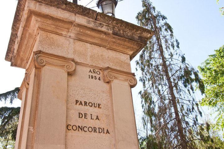 Herido por arma blanca en el parque de La Concordia de Guadalajara