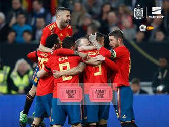 ¿Quién quiere disfrutar de una entrada doble para ver a la Selección Española de Fútbol contra Rumanía en el Wanda? Seat Amarco Car de Guadalajara te invita