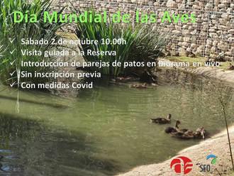 El sábado, se introducirán varias parejas de patos en el diorama en vivo de la Reserva Ornitológica de Azuqueca