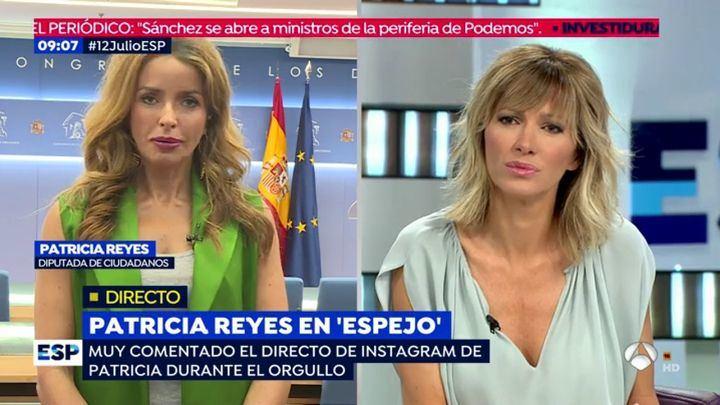 Patricia Reyes, exmiembro de la Mesa del Congreso, se da de baja de Ciudadanos al ver que su partido NO critica los seis meses de estado de Alarma de Pedro Sánchez