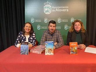 El escritor Daniel Hernández Chambers, Premio Ala Delta de Literatura Infantil, visita la Biblioteca de Alovera