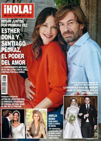 ¡HOLA! Anabel Pantoja decide seguir adelante con su boda, tras la muerte de Doña Ana