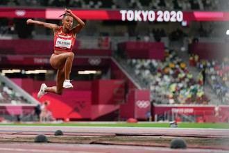 La residente en Guadalajara Ana Peleteiro consigue en los Juegos Olímpicos de Tokio la medalla de bronce en triple salto con récord de España