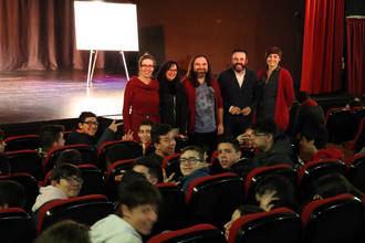 Cerca de 400 estudiantes de Secundaria asisten a las sesiones de cuentos con Pep Bruno del programa 'Pasaporte Cultural' de Azuqueca