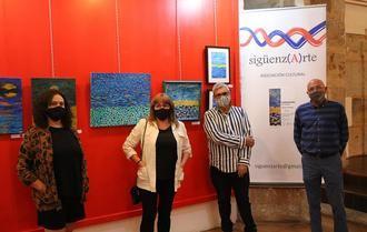 La exposición de Dimas Fernández cierra el ciclo 'Pictórica', en la Ermita de San Roque