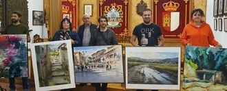 """Miguel Ángel Lacal García, vencedor del XL Certamen Internacional de Pintura Rápida al Aire Libre """"Jesús Horche"""""""