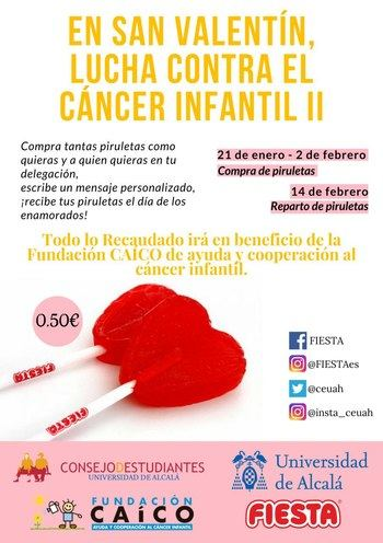 Piruletas solidarias a beneficio de la lucha contra el cáncer infantil