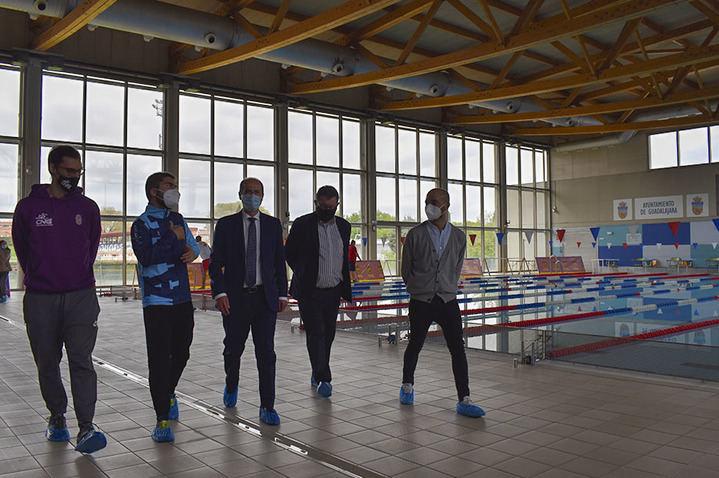 La piscina Fuente de la Niña de Guadalajara, sede este fin de semana del Campeonato de España de Salvamento y Socorrismo en las categorías cadete e infantil