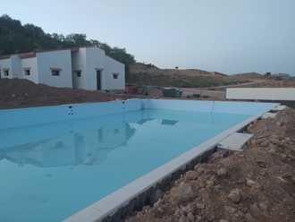 Hita completa el vaso de la nueva piscina municipal gracias a la Diputación de Guadalajara