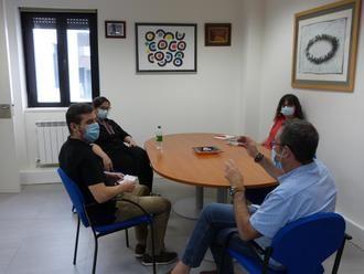 """CCOO y Podemos CLM comparten la necesidad de una """"salida social y progresista"""" de esta crisis, situando a las personas y el empleo en el centro"""