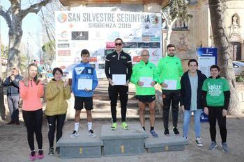 Javier Rosado y Diana Izquierdo se llevan la victoria en la IX San Silvestre Seguntina