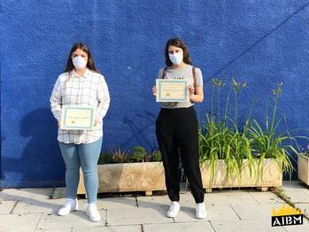 """Dos alumnas del Brianda de Mendoza, ganadoras del Concurso de Poesía Joven """"Fernando Borlán"""""""