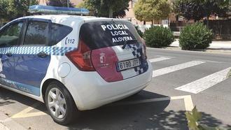 Alovera pone en marcha un dispositivo contra las carreras ilegales de coches