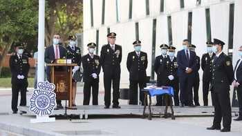 76 agentes en prácticas en comisarías de Castilla-La Mancha (9 en Guadalajara) juran su cargo de policías