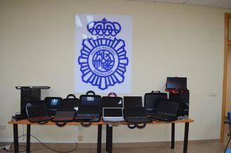 La Policía Nacional detiene a un estafador que sustrajo 23.000 euros en material informático (16 ordenadores y 3 tablets) en una tienda de Guadalajara