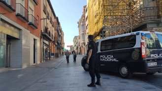 La Policía Nacional de Guadalajara detiene al autor de un robo con violencia e intimidación en una tienda de telefonía móvil