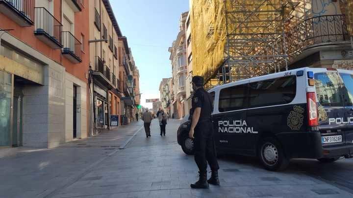 TENTATIVA DE HOMICIDIO : La Policía Nacional detiene a un joven por agredir con un machete a otro durante las fiestas de Torija