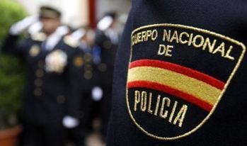 La Policía Nacional detiene en Guadalajara a un varón por lesiones, amenazas graves y tenencia de armas prohibidas