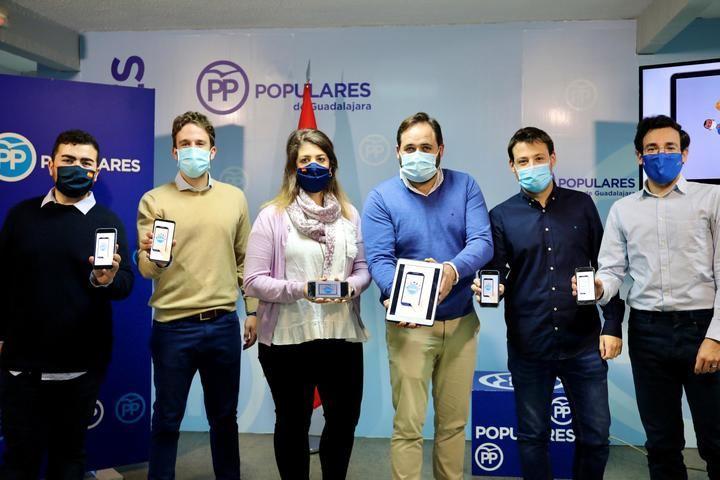 Arranca en Guadalajara la campaña 'Populares Solidarios 2.0' de NNGG CLM