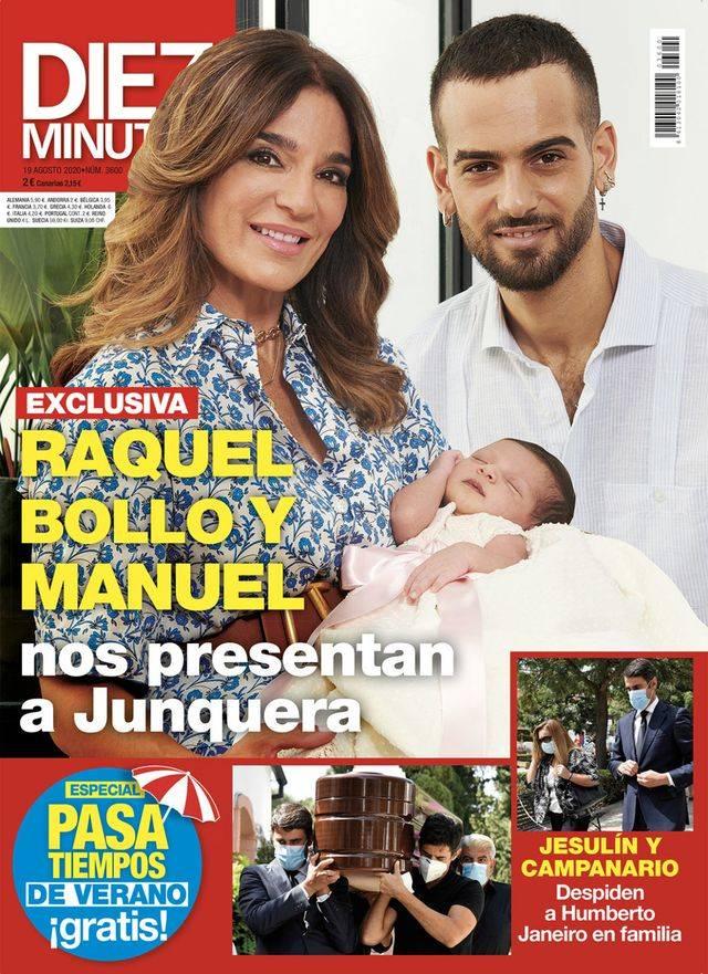 DIEZ MINUTOS Gloria Camila se 'deshace' con el hombre de su vida
