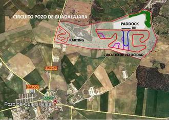 Pozo de Guadalajara albergará un complejo dedicado al mundo del motor con un circuito homologado para Formula 1 y Moto GP