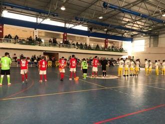 Las áreas decantaron el derbi de FS Pozo de Guadalajara ante Atlético Almonacid (1-6)
