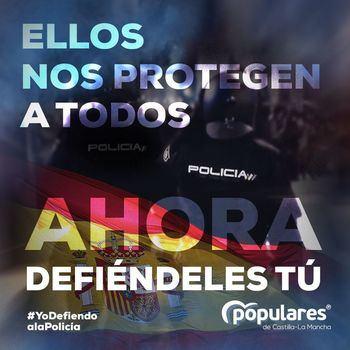 El PP de Guadalajara inicia una campaña de recogida de firmas en apoyo a las Fuerzas y Cuerpos de Seguridad del Estado
