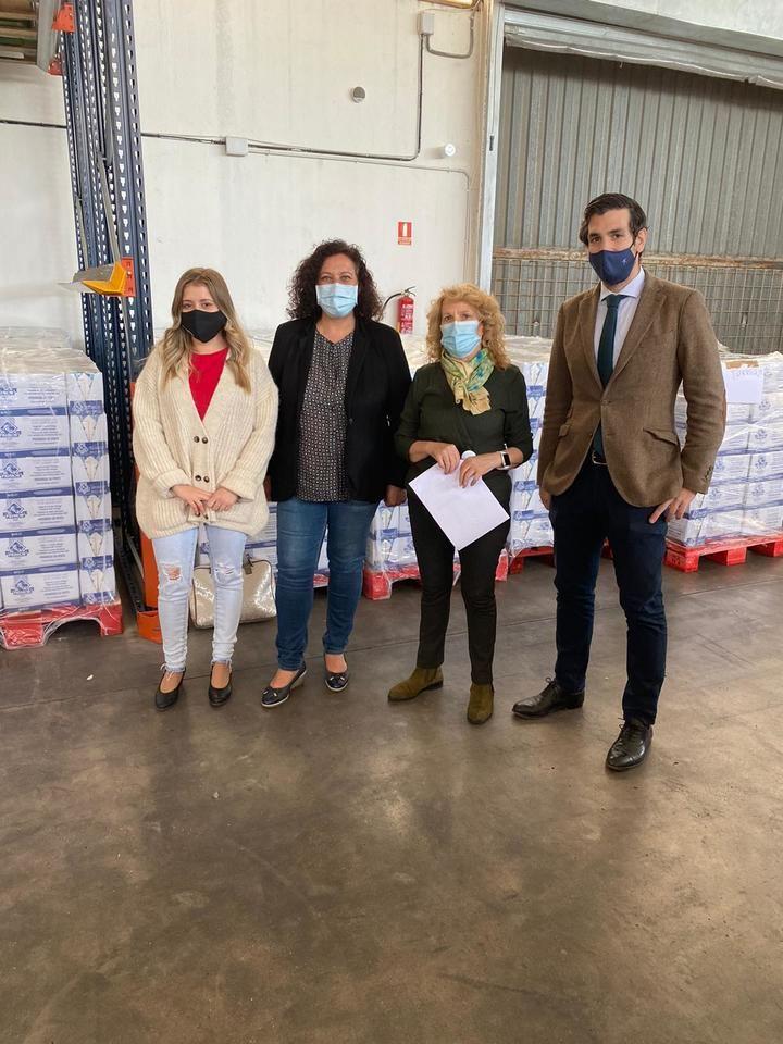 El PP de Guadalajara reconoce la labor del Banco de Alimentos y pide mayor apoyo institucional en estos momentos de crisis