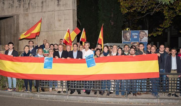 """ARRANCA LA CAMPAÑA ELECTORAL : Guarinos pide el voto para el PP porque """"es el único partido capaz de poner fin al bloqueo institucional, político, económico y social que vive nuestro país"""""""