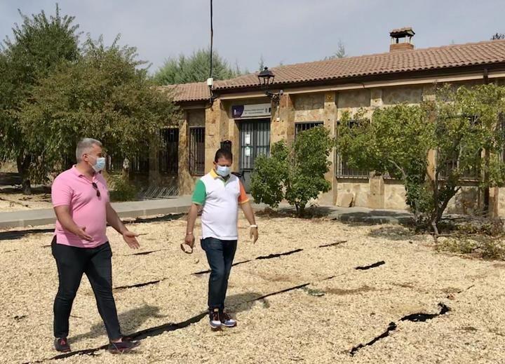 """El Partido Popular de El Pozo de Guadalajara denuncia el """"bochornoso abandono"""" del municipio"""
