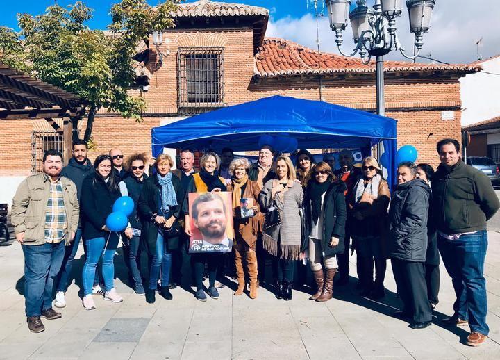Román y Echániz participan en Guadalajara en una veintena de actos programados en los tres primeros días de campaña