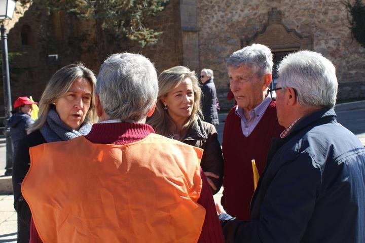 El PP critica, en la tractorada de Molina, que el socialista Page prefiera regalar a Sánchez/Iglesias los 135 millones de euros del IVA antes que destinarlos a ayudar a los agricultores