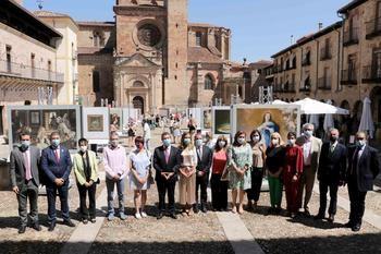 Sigüenza acoge la exposición 'El Museo del Prado en las calles' con reproducciones de sus obras más emblemáticas