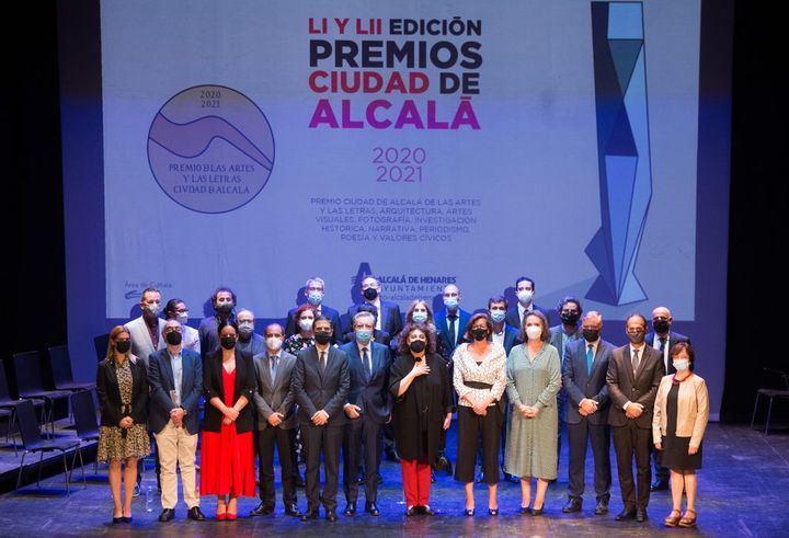 Iñaki Gabilondo y Charo López reciben el Premio Ciudad de Alcalá 2020 y 2021
