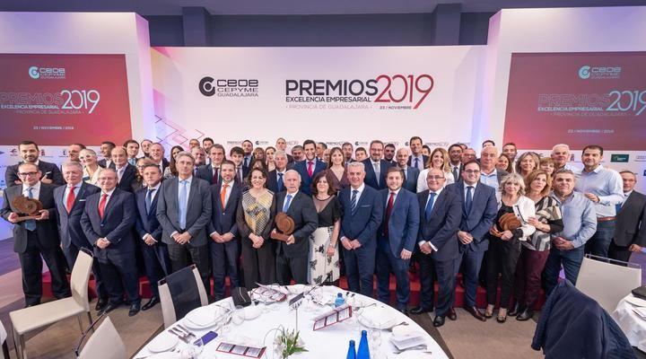 CEOE-CEPYME Guadalajara entrega sus premios Excelencia Empresarial 2019 durante la 'Noche de la Economía alcarreña'