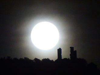 'Iluminación lunar', de María Toledano, mejor foto almonacileña del año 2020