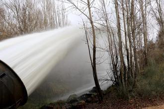 Cogolludo pide una mayor regulación del agua de los pantanos para no desperdiciar este bien tan preciado