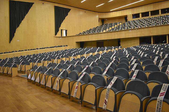 Hoy salen a la venta las entradas de la programación cultural en el Teatro Buero de Guadalajara...condicionada a la evolución del coronavirus