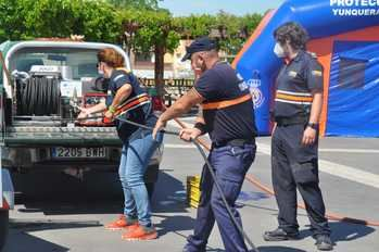 La Agrupación Local de Protección Civil de Yunquera de Henares se pone a punto de cara a la campaña de lucha contra incendios