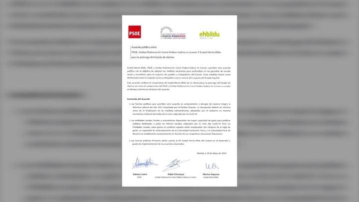 Sigue el mercadeo persa con otra cesión del Gobierno de Sánchez e Iglesias al PNV transfiriendo la gestión del Ingreso Mínimo Vital al País Vasco