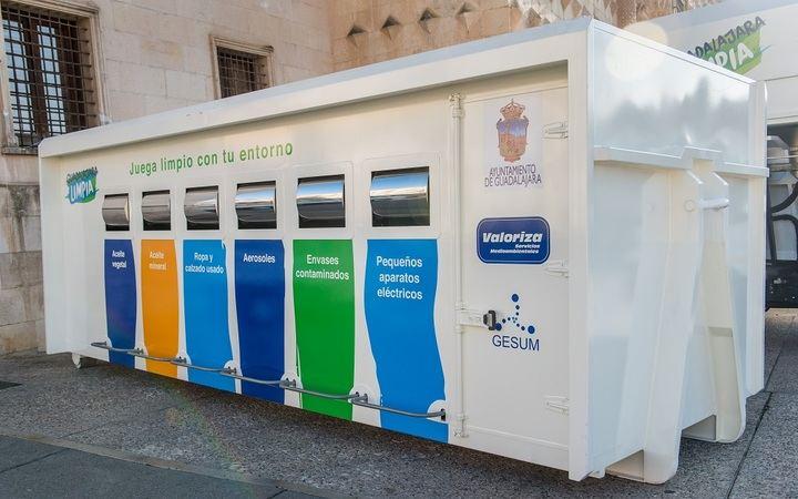 El próximo lunes se retoma el servicio de recogida de residuos voluminosos y el punto limpio móvil en Guadalajara capital