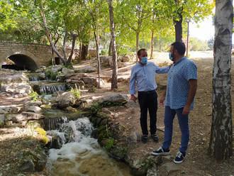 En marcha el proyecto de naturalización en la laguna y las vías de agua del Parque de La Quebradilla de Azuqueca