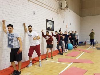 Actividades deportivas en el programa navideño de Quer